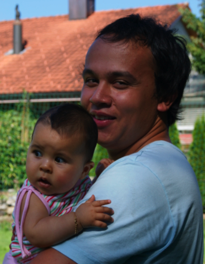 hapa53 - Father bonding with his children - Philippine Photo Gallery